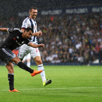WEST BROMWICH, ENGLAND - AUGUST 23:  Pedro of Chelsea sets up the second Chelsea goal scored by Diego Costa of Chelsea during the Barclays Premier League match between West Bromwich Albion and Chelsea at The Hawthorns on August 23, 2015 in West Bromwich, England.  (Photo by Michael Regan/Getty Images)