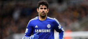 Costa in action against Newcastle