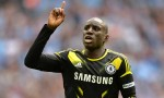 Demba Ba against Manchester City