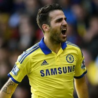 Fabregas scores against Palace