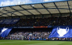 Matthew Harding end has a message for Arsenal fans