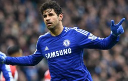 Diego Costa scores against Southampton