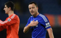 John Terry celebrates against Spurs