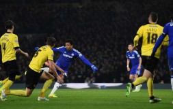 Willian scores against Watford