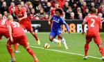 Willian in action against Liverpool