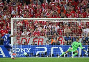 Drogba was the hero--twice--against Bayern in the 2012 Champions League Final