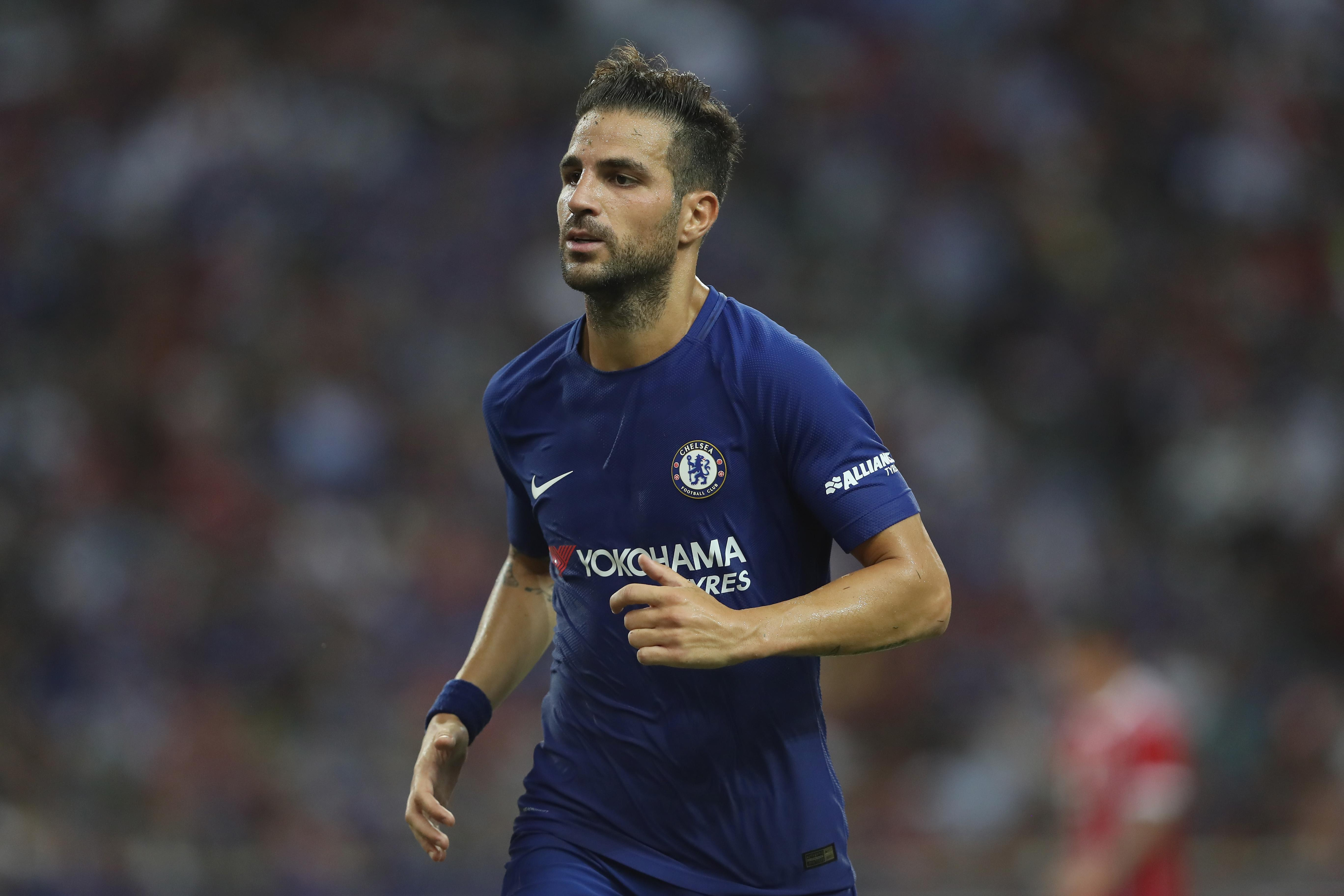 Watch Fabgreas Shocks Chelsea Training With Impressive Pace