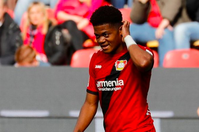 Arsenal, Chelsea target Leon Bailey keen to leave Bayer Leverkusen this summer?