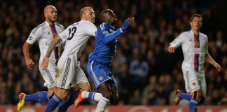 Demba Ba in action against Basel