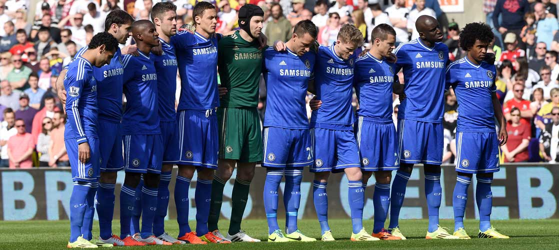 Chelsea pay tribute