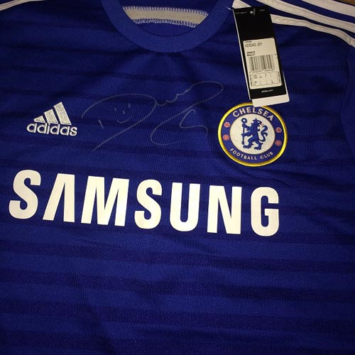 Costa shirt up for grabs
