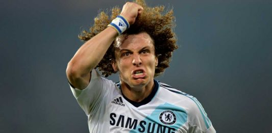 David Luiz against FC Basel