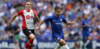 Eden Hazard in-action against Southampton