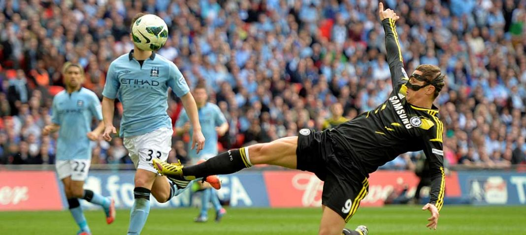 Fernando Torres against Manchester City