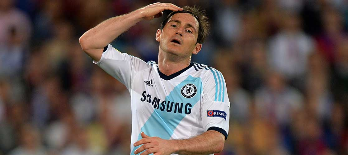 Frank Lampard against FC Basel