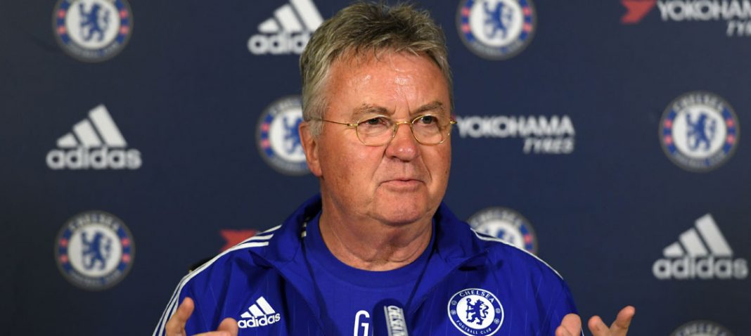 Guus Hiddink speaks after the Sunderland defeat