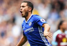 Eden Hazard scores against Burnley