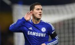 Hazard celebrates against Spurs