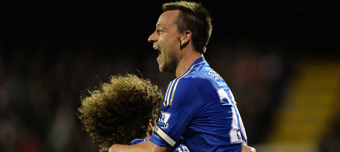 John Terry against Fulham
