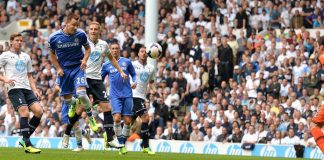 John Terry scores against Spurs