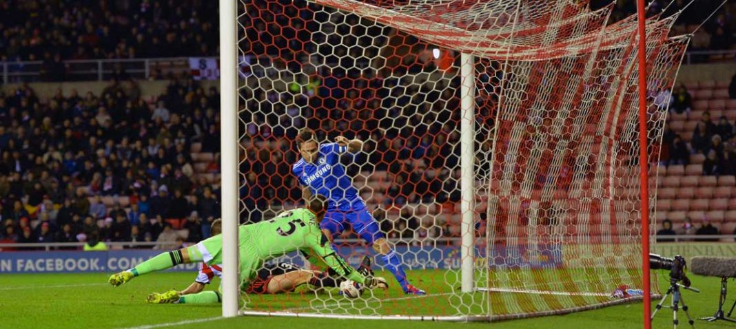 Lampard scores against Sunderland