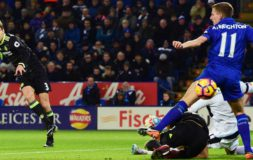 Alonso scores against Leicester City