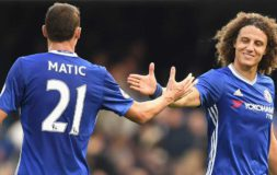 Matic and Luiz against Leicester