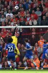 Schwarzer in action against Liverpool