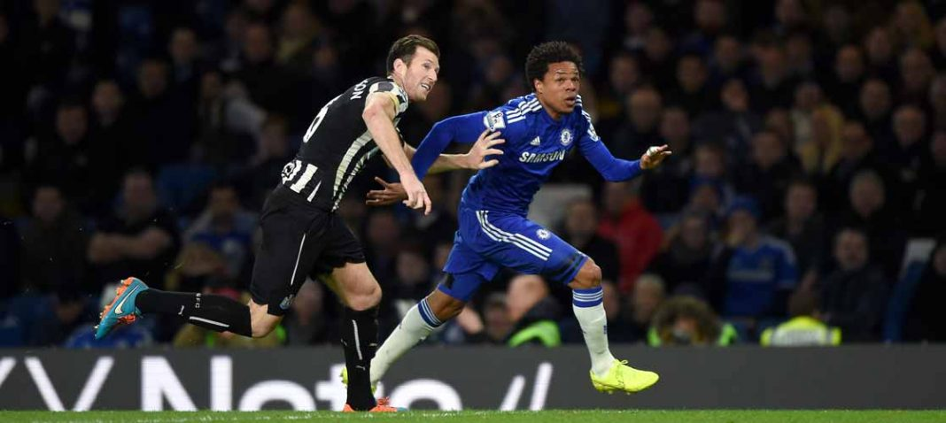 Remy in action against Newcastle United