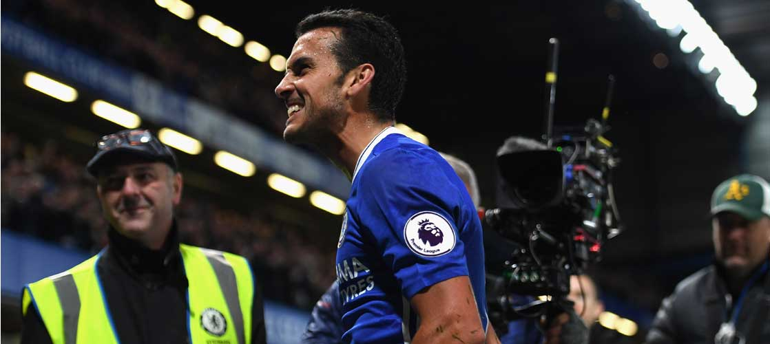Pedro already has one pre-season goal for Chelsea