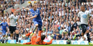 Schurrle in action against Spurs
