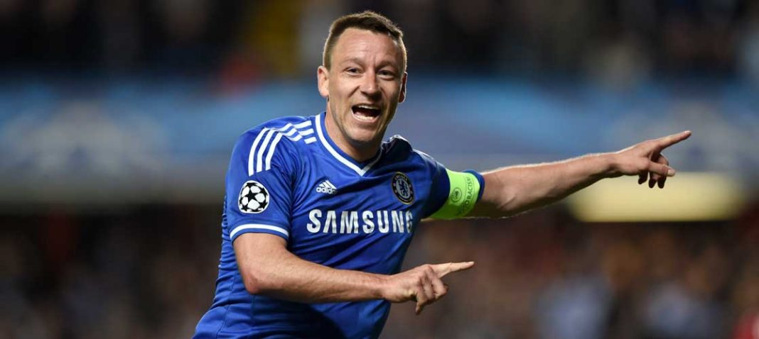 John Terry in action against Galatasaray