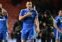 John Terry salutes magnificant away support