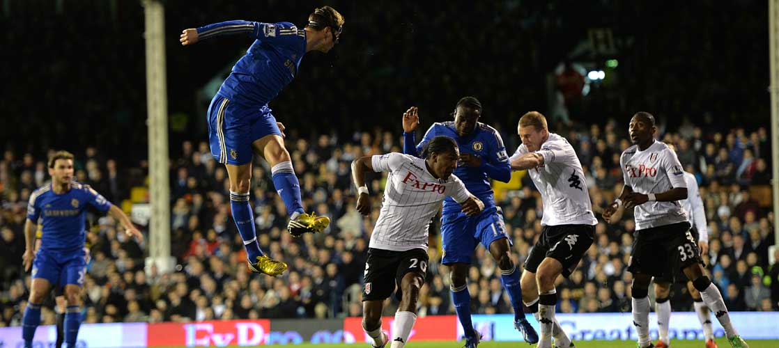 Torres in action against Fulham