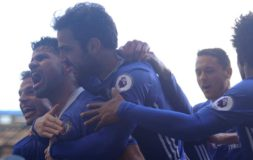 Costa celebrates against WBA